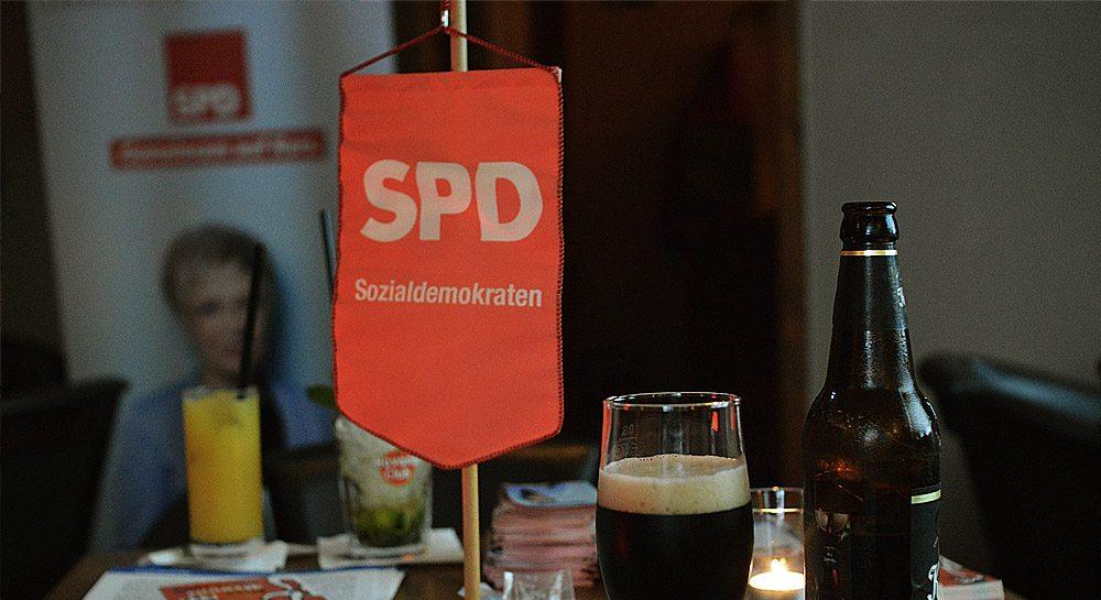 SPD Wahlparty NB - Foto Henrik Nürnberger